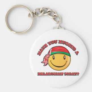 Have you hugged a Belarusian today? Key Ring