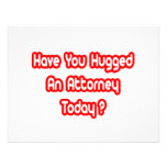 Have You Hugged An Attorney Today? Custom Invitations