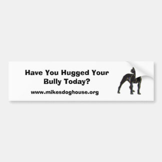 Have You Hugged Your Bully Today? Bumper Sticker