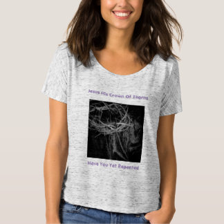 Have You Repented Womens T-Shirt By Cheyene  Lopez