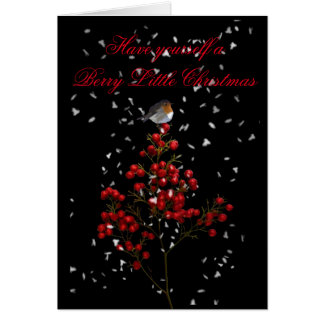 HAVE YOURSELF A BERRY LITTLE CHRISTMAS CARD