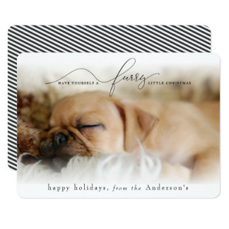 HAVE YOURSELF A FURRY LITTLE CHRISTMAS CARD