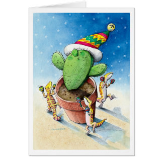 Have Yourself a Merry Little Cactus! Card