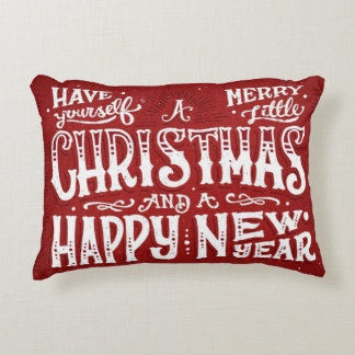 Have Yourself a Merry Little Christmas Accent Cushion
