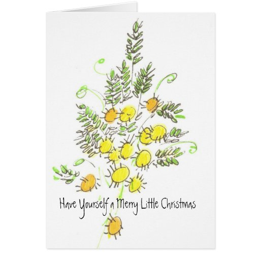 Have Yourself a Merry Little Christmas Greeting Cards