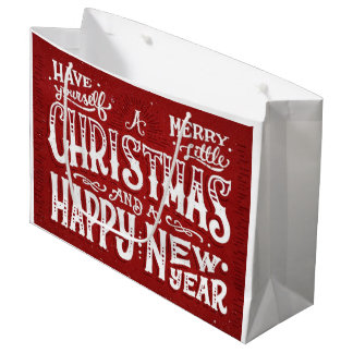 Have Yourself a Merry Little Christmas Large Gift Bag