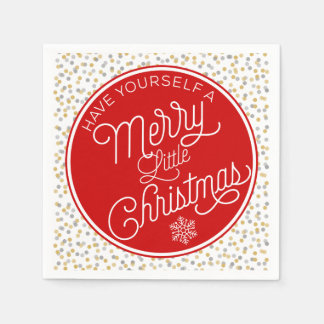 Have Yourself A Merry Little Christmas Paper Serviettes