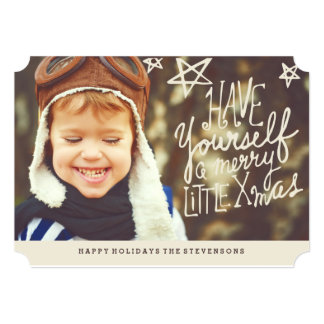 Have Yourself A Merry Little Christmas | Photo 13 Cm X 18 Cm Invitation Card