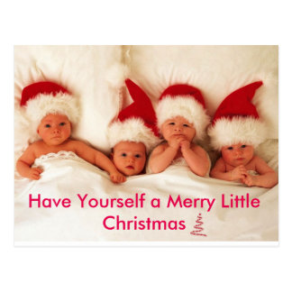 Have Yourself a Merry Little Christmas Postcard