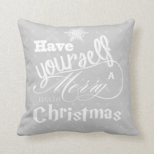 Have Yourself a Merry Little Christmas Reindeer Pillows