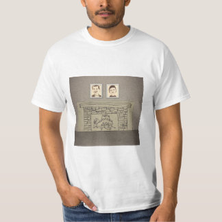 Havel and Reed Over the Fireplace T-Shirt