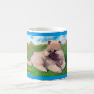 """Havel"" Keeshond Puppy Mug"