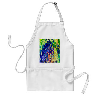 Havenly Blue Flame Spiritual Experience V1 Apron
