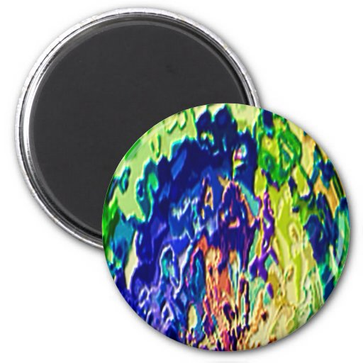 Havenly Blue Flame Spiritual Experience V1 Refrigerator Magnets