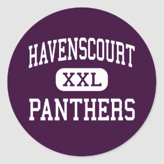 Havenscourt - Panthers - Junior - Oakland Classic Round Sticker