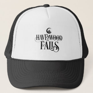 Havenwood Falls Signature - Black Trucker Hat