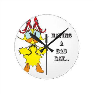 Having a bad day....ai clock