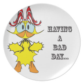 Having a bad day....ai party plate