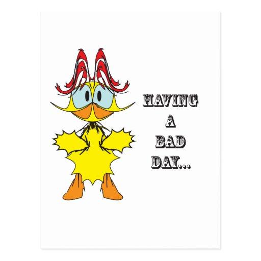 Having a bad day....ai post card