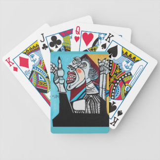 HAVING A BAD DAY BICYCLE PLAYING CARDS