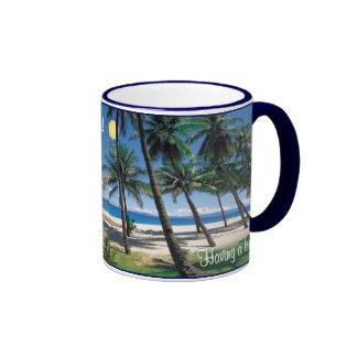 Having a bad day? Take a break.. be here! Ringer Mug