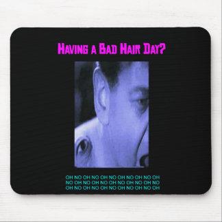 Having a Bad Hair Day? Mousepad