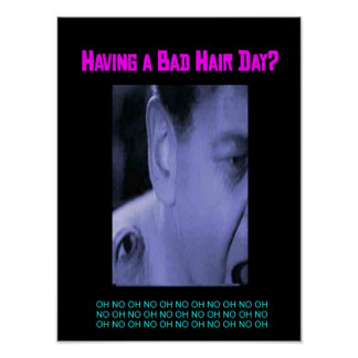 Having a Bad Hair Day? Poster