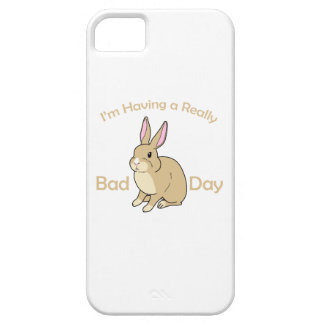 Having a Bad Hare Day iPhone 5 Cover