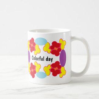 Having a Colorful Day Coffee Mug