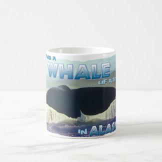 Having a Whale of a Time Basic White Mug