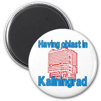 Having Oblast in Kaliningrad Magnet