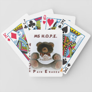 Having Our Pain Erased Bicycle Playing Cards