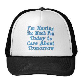 Having Too Much Fun Mesh Hat