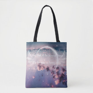 Having wings tote bag