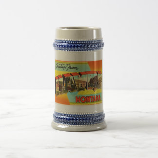 Havre Montana MT Old Vintage Travel Souvenir Beer Stein
