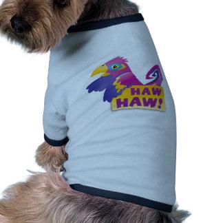 HAW HAW Macaw Ringer Dog Shirt