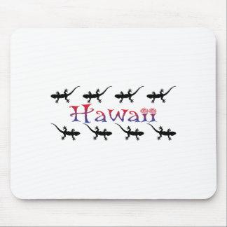 hawai geckos mouse pad