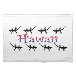 hawai geckos placemat
