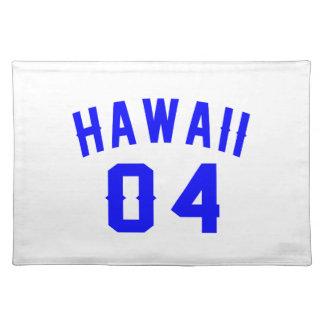 Hawaii 04 Birthday Designs Placemat