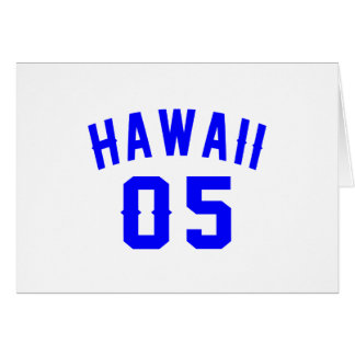 Hawaii 05  Birthday Designs Card