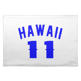 Hawaii 11 Birthday Designs Placemat