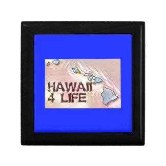"""Hawaii 4 Life"" State Map Pride Design Gift Box"