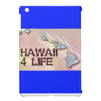 """Hawaii 4 Life"" State Map Pride Design iPad Mini Cases"