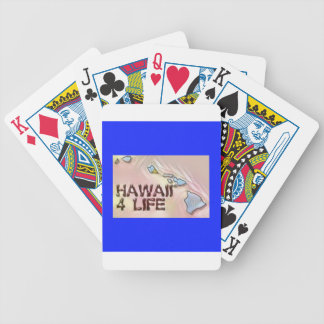 """Hawaii 4 Life"" State Map Pride Design Poker Deck"