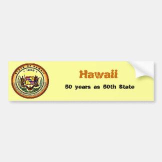 Hawaii 50th Bumper Sticker