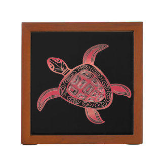 Hawaii Aloha Turtle Desk Organiser