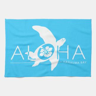Hawaii - Aloha Turtle Tea Towel