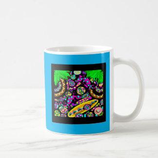 HAWAII  BEACH ART COFFEE MUG
