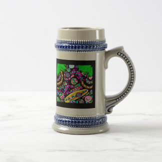 Hawaii.Beach Beer Stein