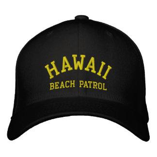 HAWAII, BEACH PATROL EMBROIDERED HAT